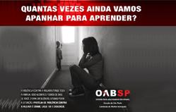 cartaz de uma campanha equivocada da OAB-SP