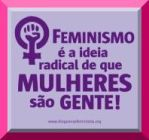 clique para visitar o blog das Blogueiras Feministas!