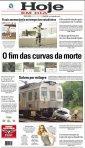 capa do jornal Hoje em Dia de 06/05/2011