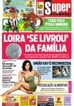 capa do jornal Super de 06/05/2011
