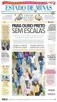 capa do jornal Estado de Minas de 06/05/2011