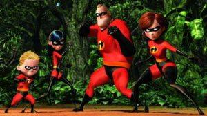 """Não é só este tipo de família que existe no mundo. Cena do filme """"Os Incríveis"""", Disney/Pixar."""