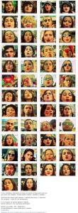 Clique para ver o álbum completo: Beijos de batom